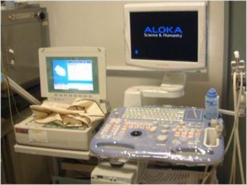 動物用心電図自動解析装置&超音波診断装置